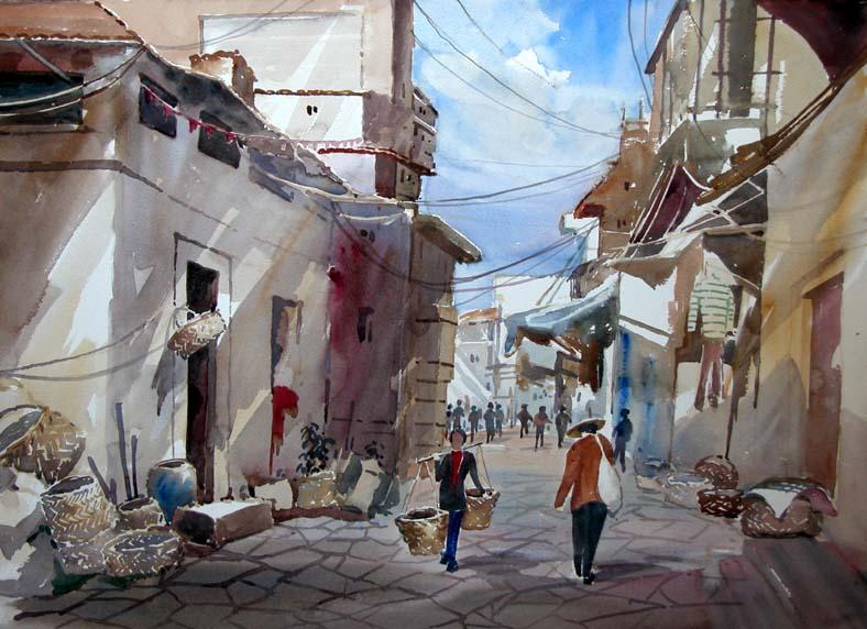 Chao Ann Street Scene