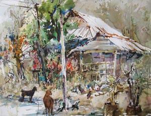 Singapore Last Village Kampong Buangkok Ng Woon Lam NWS AWS