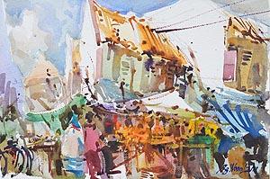 Buffalo Road Market, Little India, Singapore