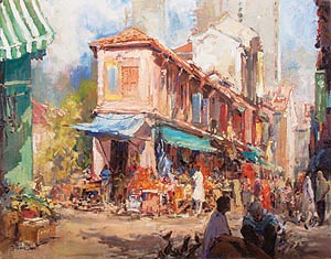 Singapore Oil Painting Art Society Ng Woon Lam NWS AWS