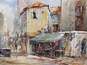 Louisiana Watercolor Society 41st International 2nd Place Award Ng Woon Lam NWS AWS