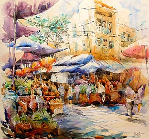 Singapore Best Artist Acrylic Painting Jack Tia Kee Woon