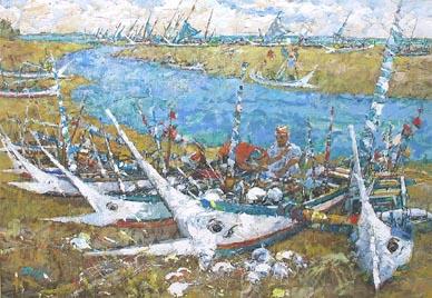 Boat by Tong Chin Sye