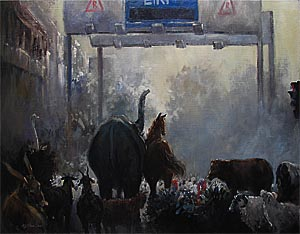 ERP Gantry Oil Painting Animals