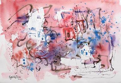 Singapore Contemporary Modern Art Society Oil Paintings