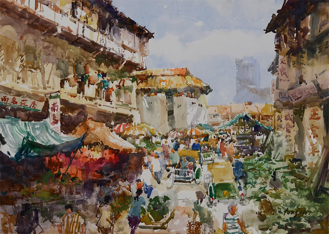 Far East Collection Oil Painting